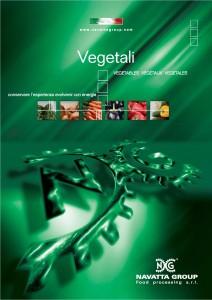 Vegetables catalog cover